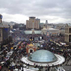 Ukraine protests: Not quite a million, but no end in sight